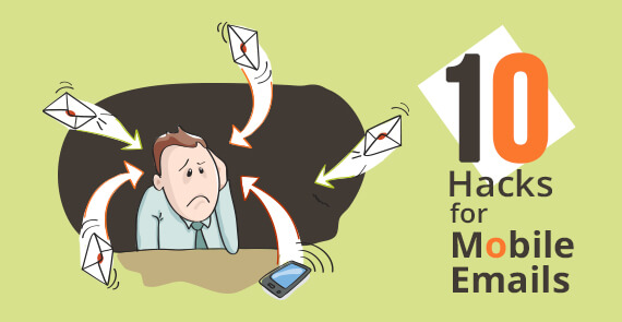 mobile email hacks