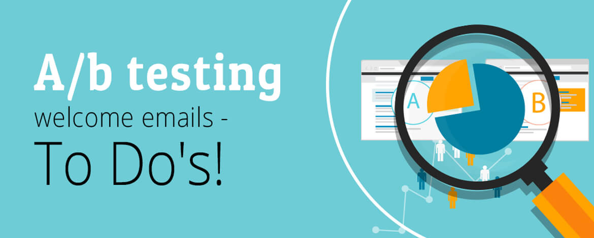 A/b testing welcome emails