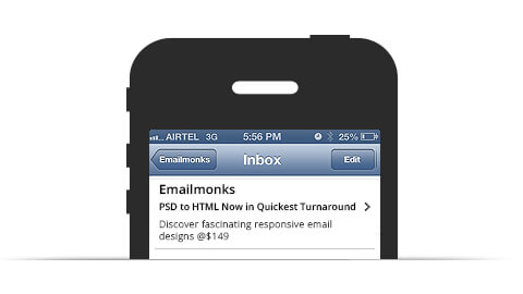 Html email preview text