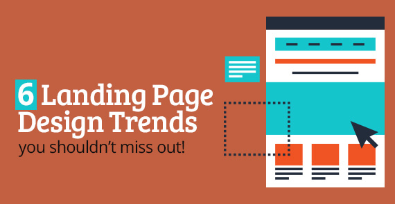 Landing page design trends- Thumbnail