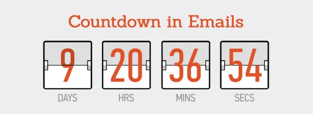 Countdown in emails featured