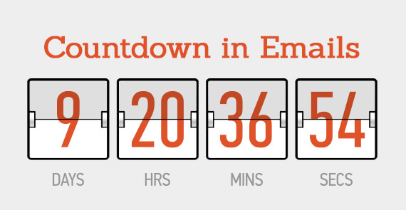 Countdown in emails thumbnail