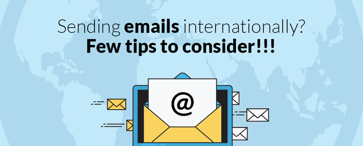 International email marketing