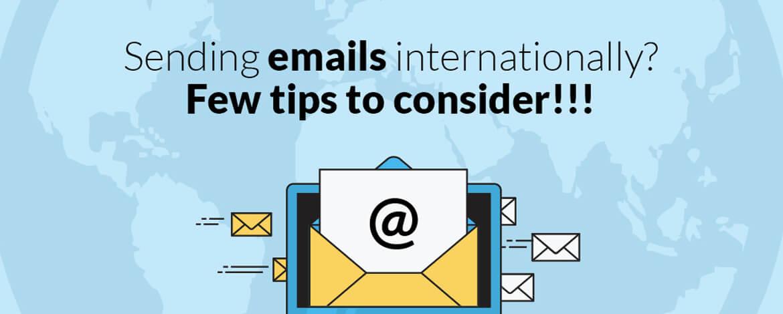 International email marketing
