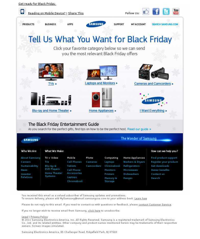 Samsung - Black Friday