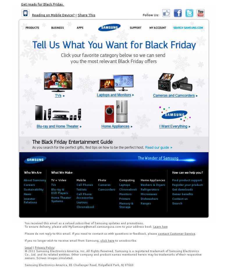 Samsung - Black Friday
