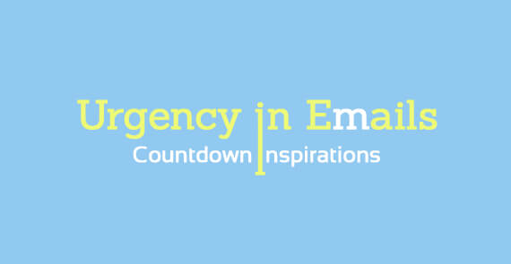 Urgency in Emails - Countdown Inspirations - thumbnail