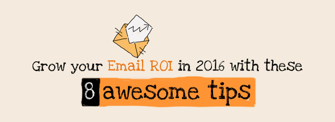 Email marketing tips- ROI featured image