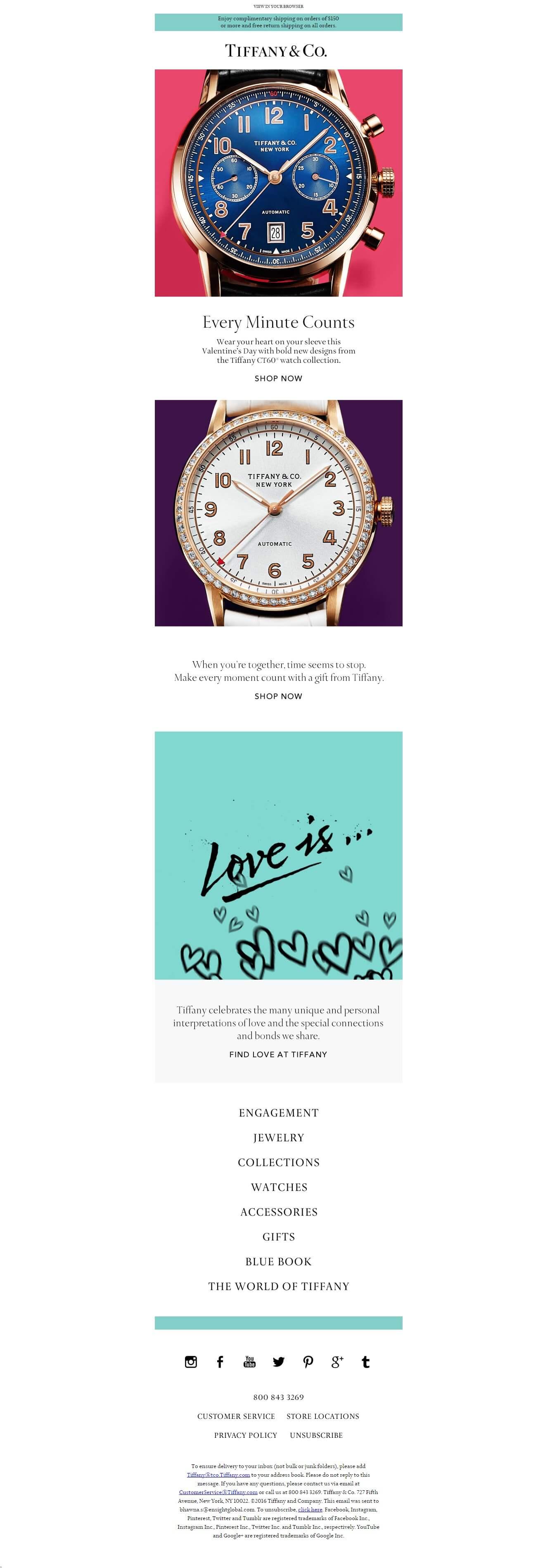 Love Every Minute   Tiffany CT60