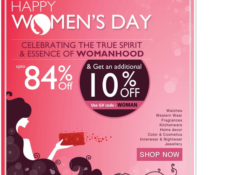 womens day email templates