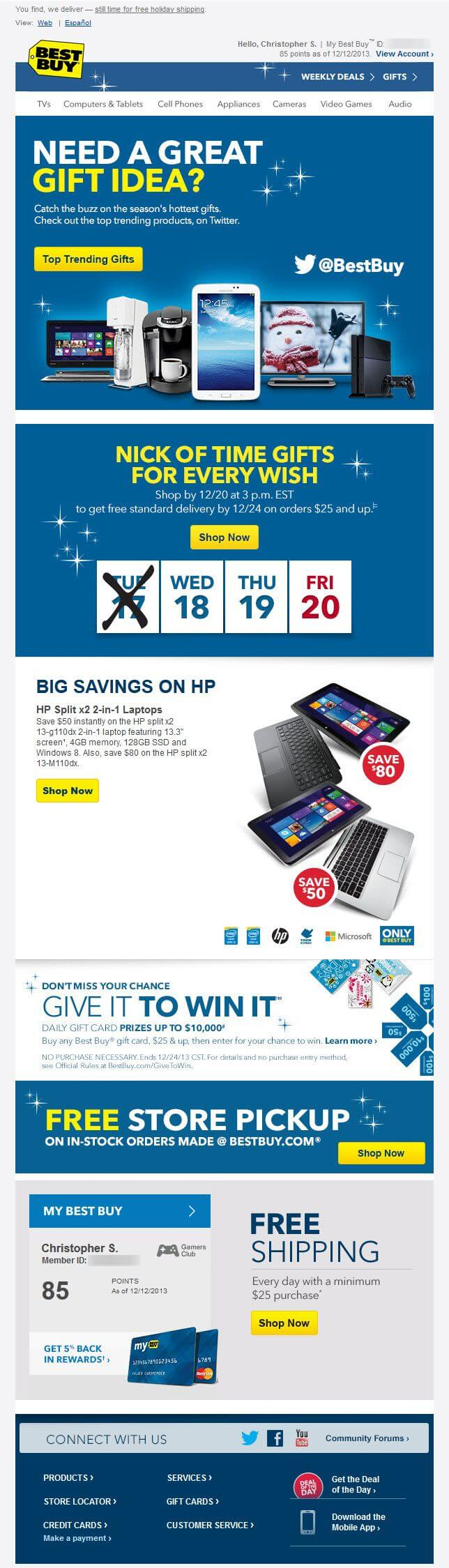 Best Buy - Promotional