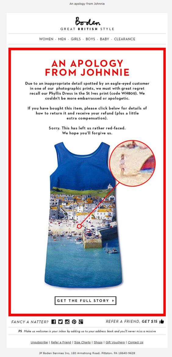 Boden-april fools day email