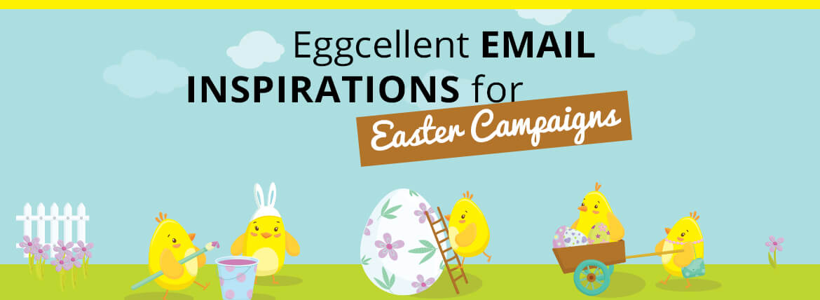 Easter email templates for awesome email campaigns eggcellent email inspirations for easter campaigns negle Gallery