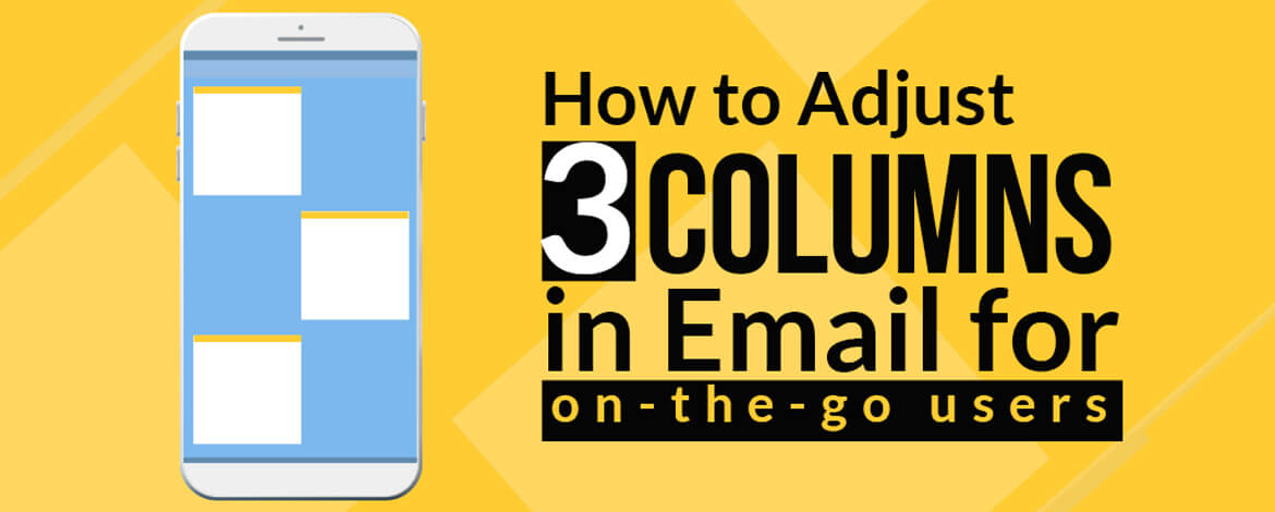 3 Column Layout email template