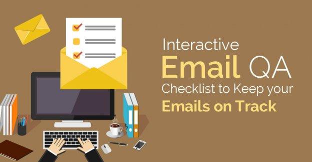 interactive email QA checklist