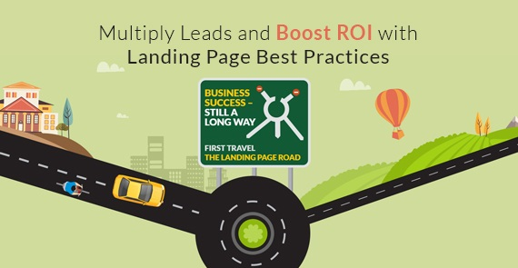 Landing Page Infograph