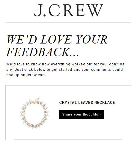 feedback J.Crew