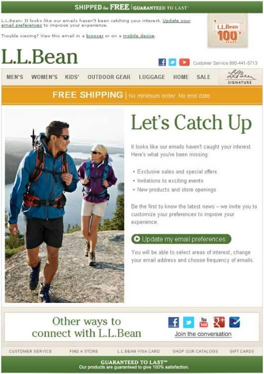 ll-bean-reengagement-email