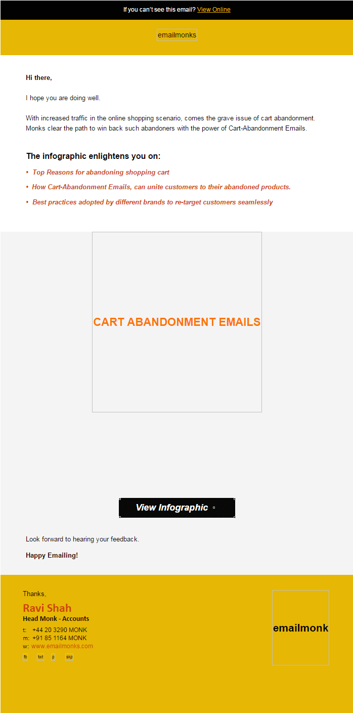 HTML email templates- EM without css