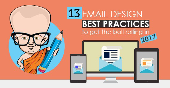 13 Email Design Best Practices 2017