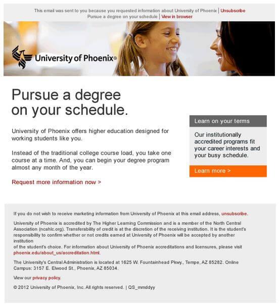 Educational Email-Phoenix