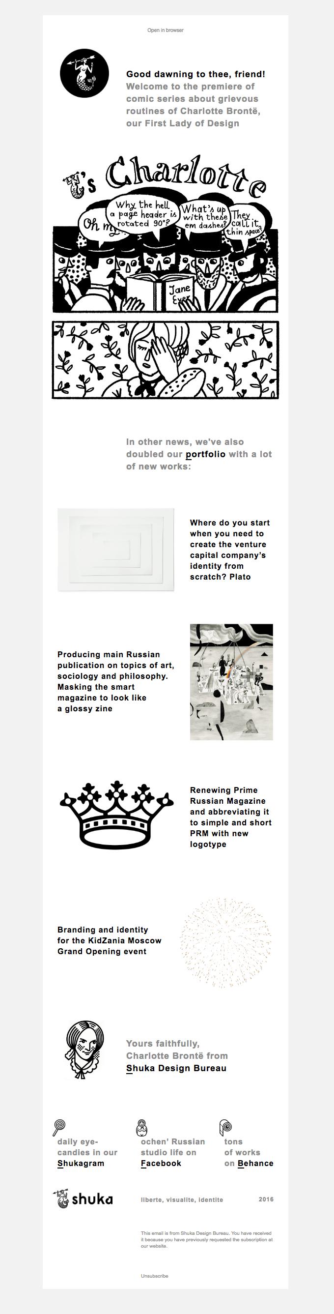 Business email examples-Shuka Design Bureau