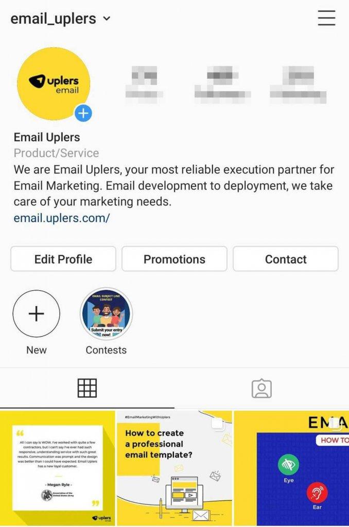 Email Uplers Instagram