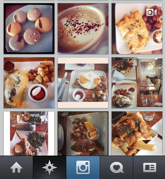 Instagram and Email Marketing- Food