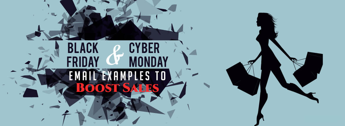 Black Friday & Cyber Monday Email Examples