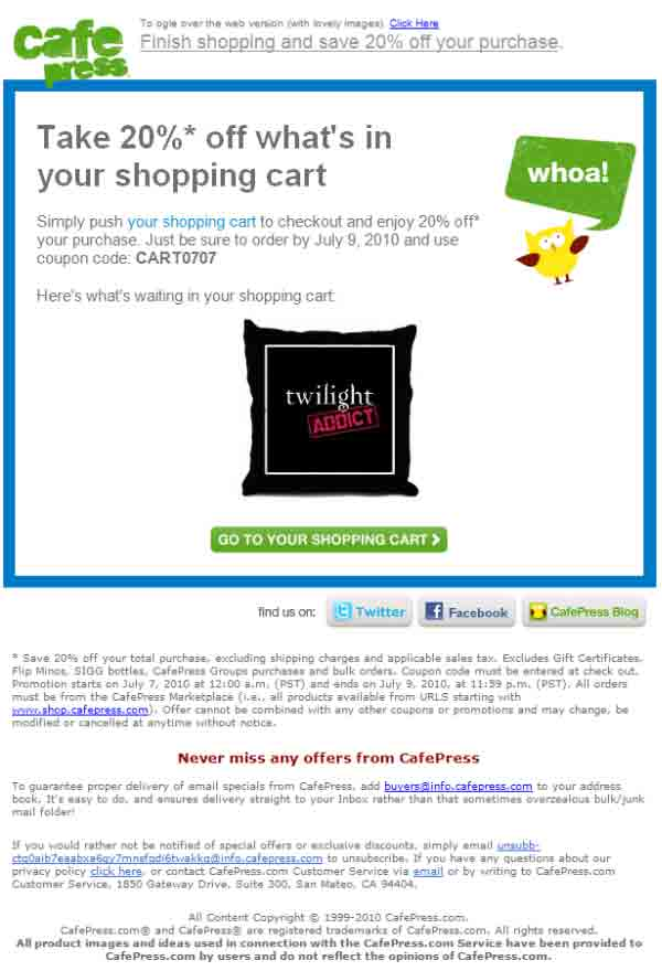 abandoned cart email tips for holiday email marketing. Black Bedroom Furniture Sets. Home Design Ideas