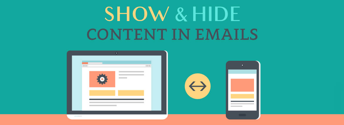 Show and Hide Content in Emails sample