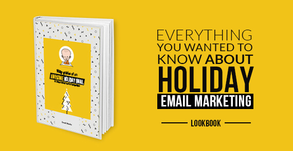 holiday email marketing Lookbook