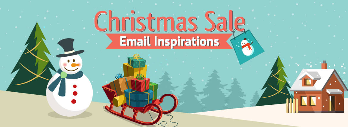 Christmas email examples