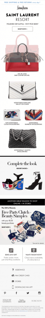 Email Landing Page_Neiman Marcus