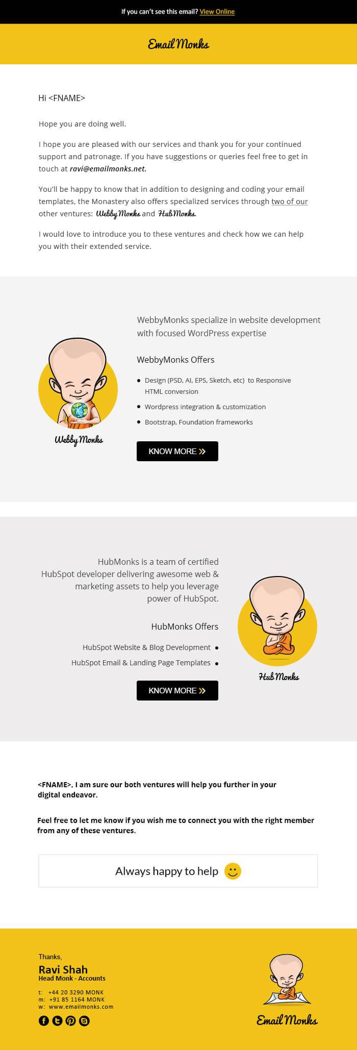 Email-design-Template - Flip-Flop