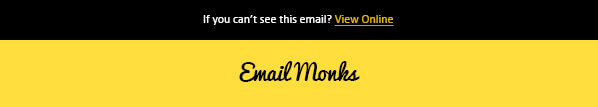 HTML email Template Design Header View-Online
