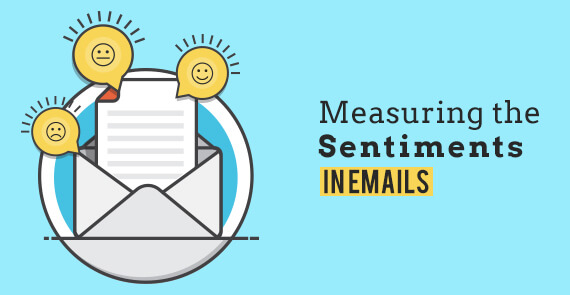 Measuring the sentiments in emails