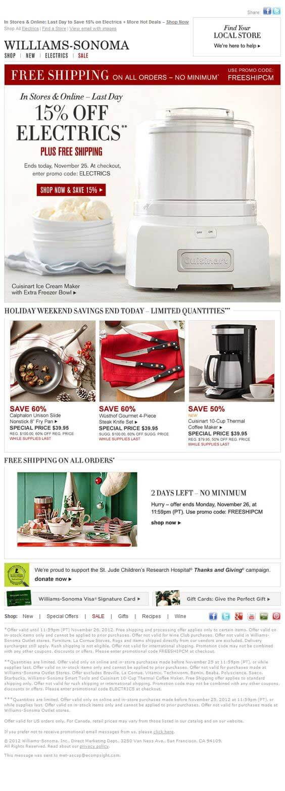 Williams-Sonoma-email-marketing-examples
