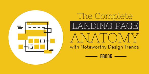 Effective landing page design