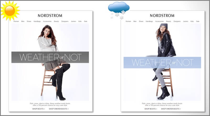 Nordstrom-email marketing campaign