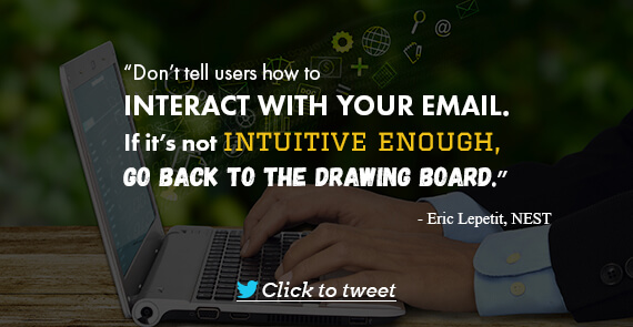 Email Marketing Quote- Eric Lepetit