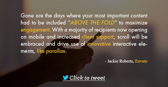 Email Marketing Quote- Jackie Roberts