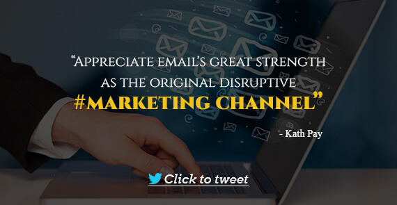 Email Marketing Quote- Kath Pay