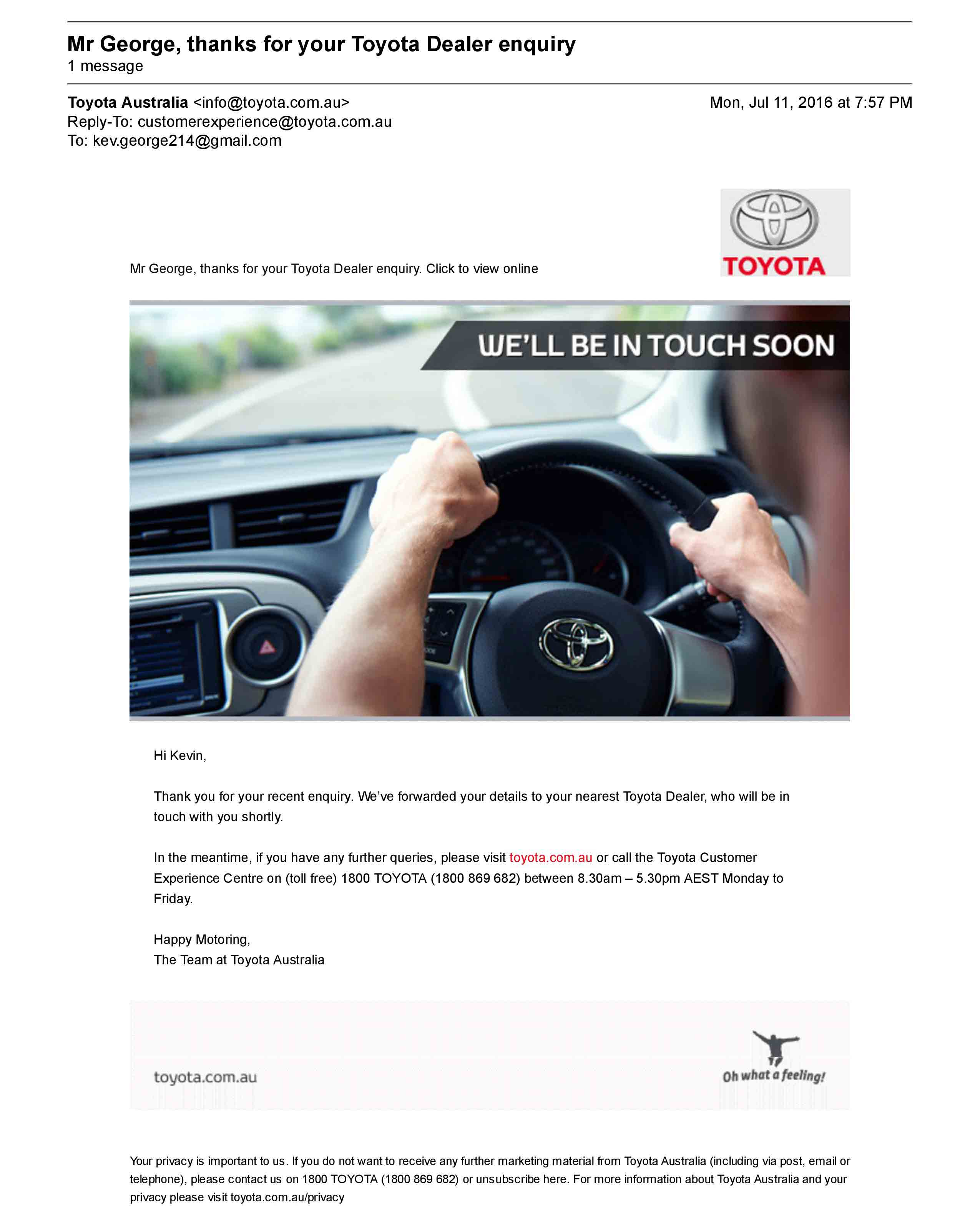Email-inspiration-Toyota