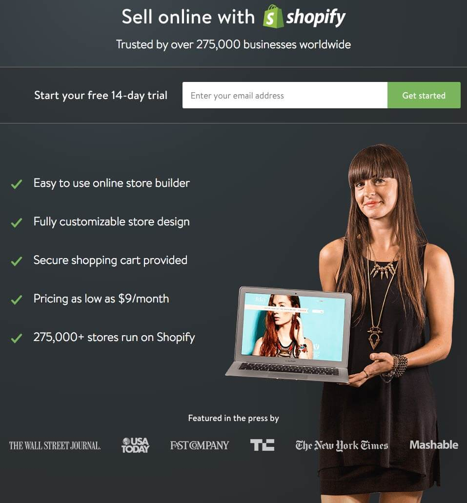 shopify-landing-page-example