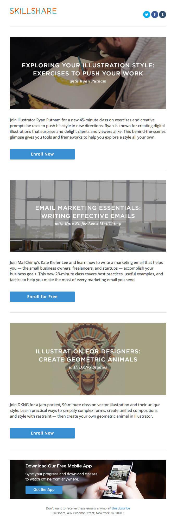 Academic-email-inspiration-Skillshare