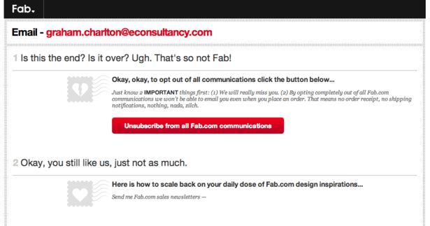 Fab-Unsubscribe-Email