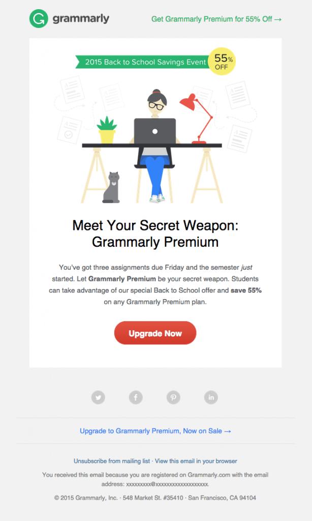 Grammarly-Back to School