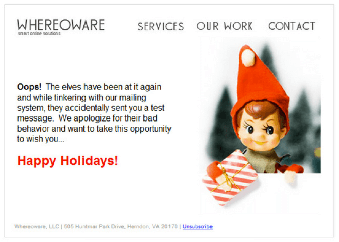 Whereowre-email marketing mistakes