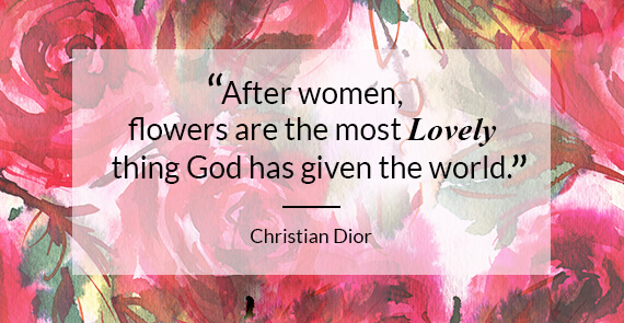 Women's Day Email_Christian Dior Quote